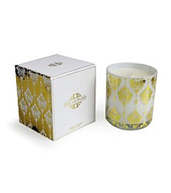 Isaac Mizrahi® Rosemary and White Damask Filled Candle