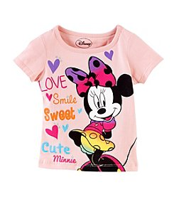 Nannette® Girls' 2T-4T Minnie Love Tee