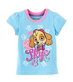 Nannette® Girls' 2T-4T Nickelodeon Paw Patrol Skye Character Tee