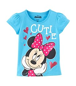 Nannette® Girls' 4-6X Minnie Cutie Tee