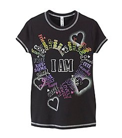 Beautees Girls' 7-16 I Am Everything Tee