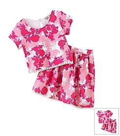 Speechless® Girls' 7-16 Floral Print Skirt Set