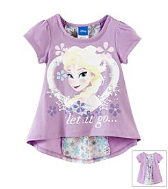 Nannette® Girls' 2T-6X Let It Go Character Tee
