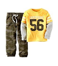 Carter's® Boys' 2T-4T Handsome Camo Pants Set