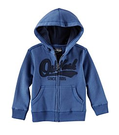 OshKosh B'Gosh® Boys' 2T-7X Full Zip Logo Hoody