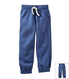 OshKosh B'Gosh® Boys' 2T-4T Logo Fleece Pants