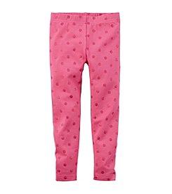 Carter's® Girls' 2T-4T Glitter Dot Leggings