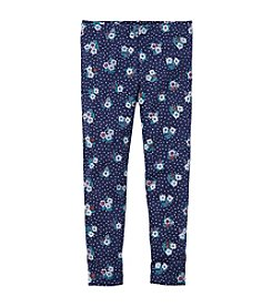 Carter's® Girls' 2T-4T Floral Leggings