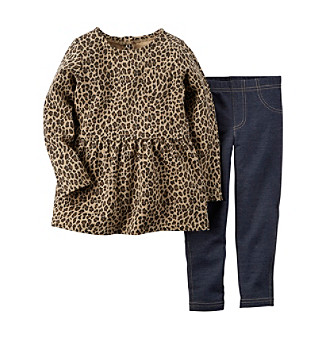 0e444a237fb4c UPC 888510869849 product image for Carter's® Girls' 2T-4T Animal Print Top  With ...