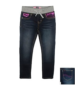 Lee® Girls' 2T -6X Skinny Jeans With Sequin Accents