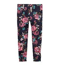 Carter's® Girls' 2T-4T Floral Print Leggings