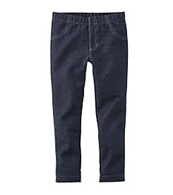 Carter's® Girls' 4-6X Knit Denim Leggings