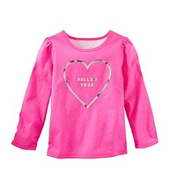 OshKosh B'Gosh® Girls' 2T-4T Follow Your Heart Tee