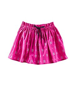 OshKosh B'Gosh® Girls' 2T-7 Poplin Printed Skirt