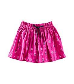 OshKosh B'Gosh® Girls' 2T-7 Poplin Printed Skirt