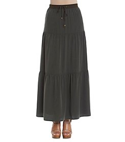 Jones New York Signature® Tiered Peasant Skirt