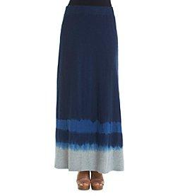 DKNY JEANS® Tie Dye Maxi Skirt