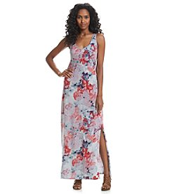 DKNY JEANS® Floral Printed Maxi Dress