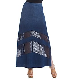 DKNY JEANS® Denim Maxi Skirt