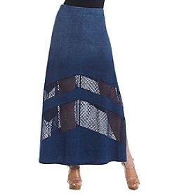 DKNY JEANS® Denim Maxi Skirt