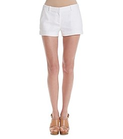 MICHAEL Michael Kors® Eyelet Mini Shorts