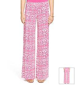 Lauren Ralph Lauren Ikat-Print Wide-Leg Pant