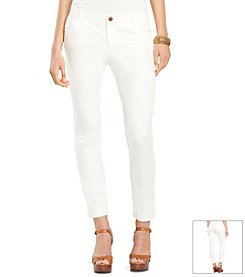 Lauren Ralph Lauren® Stretch-Cotton Skinny Pant