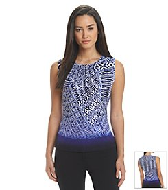 Calvin Klein Abstract Ombre Top