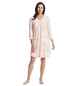 Miss Elaine® 3/4 Sleeve Nightgown