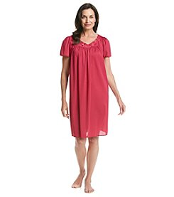 Miss Elaine® Short Nightgown