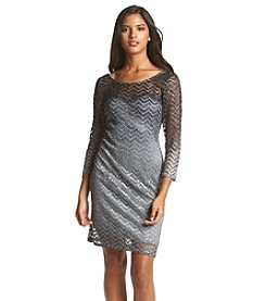 Morgan & Co.® Ombre Chevron Sheath Dress