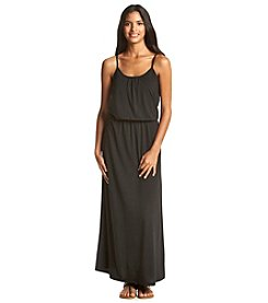 w.f. Blouson Tank Maxi Dress