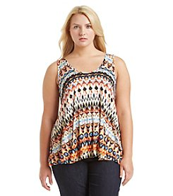 Living Doll® Plus Size Knit Swing Tank