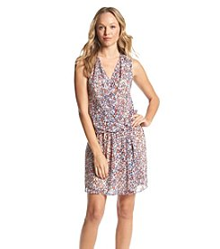 BCBGeneration™ Floral Wrap Dress