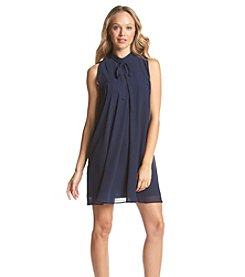 BCBGeneration™ Tie Neck Dress