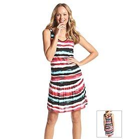 Kensie® Hazy Stripe Flip Flop Dress