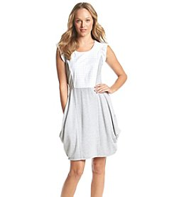 Kensie® Eyelet Drapey Dress