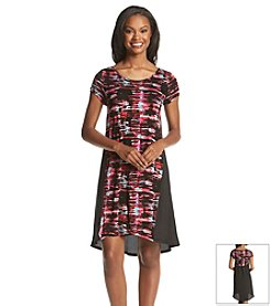 Kensie® Broken Stripe Dress