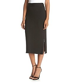Kensie® Pencil Skirt With Zipper