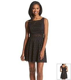 Trixxi® Crochet Skater Dress