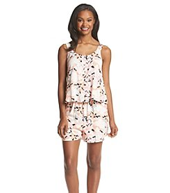 Olive & Oak Outfitters® Sleeveless Printed Woven Romper
