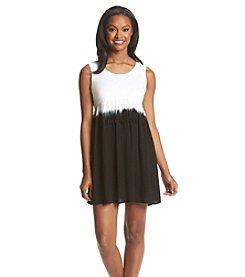 Olive & Oak Outfitters® Fringe Dip Dye Dress