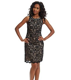 Jessica Howard® Jeweled Lace Shift Dress