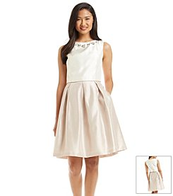 Jessica Howard® Jeweled Popover Dress