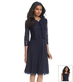 Jessica Howard® Lace Jacket Dress