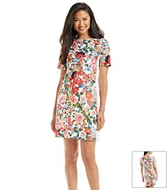 Adrianna Papell® Floral Print Dress