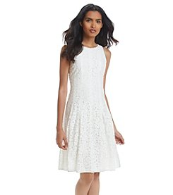 Ivanka Trump® Knit Lace Dress