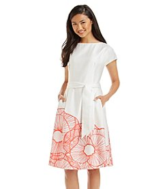Anne Klein® Printed Hem Dress