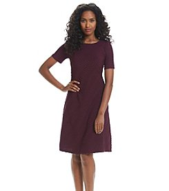 R&M Richards® Wavy Shift Dress
