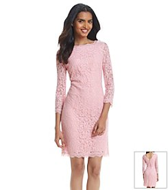 Adrianna Papell® Scalloped Lace Dress